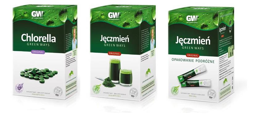 zielony jęczmień z chromem